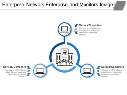 Enterprise Network Enterprise And Monitors Image