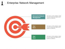 Enterprise Network Management Ppt Powerpoint Presentation Model Styles Cpb