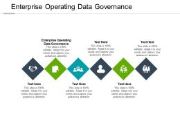 Enterprise Operating Data Governance Ppt Powerpoint Presentation Styles Picture Cpb
