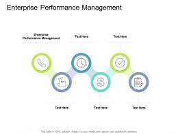 Enterprise Performance Management Ppt Powerpoint Presentation Portfolio Layout Cpb