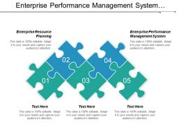 Enterprise Performance Management System Enterprise Resource Planning Risk Management Cpb
