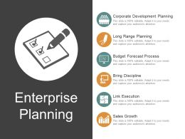 Enterprise Planning Ppt Templates