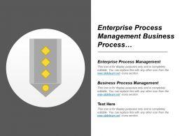 Enterprise Process Management Business Process Management Share Measurement
