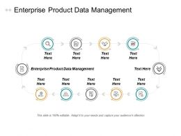 Enterprise Product Data Management Ppt Powerpoint Presentation Gallery Display Cpb