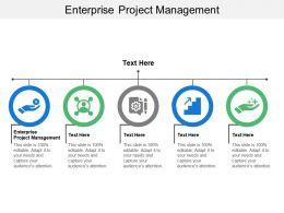 Enterprise Project Management Ppt Powerpoint Presentation Infographic Template Show Cpb