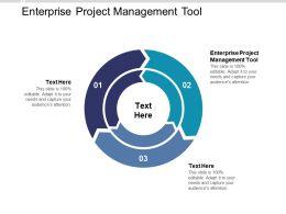 Enterprise Project Management Tool Ppt Powerpoint Presentation Ideas Background Designs Cpb