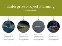 Enterprise Project Planning Presentation Backgrounds