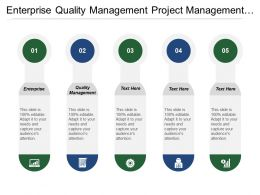 enterprise_quality_management_project_management_link_business_strategy_Slide01