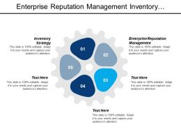 Enterprise Reputation Management Inventory Strategy Compliance Management System Ppt Cpb