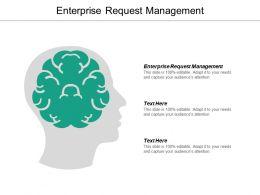 Enterprise Request Management Ppt Powerpoint Presentation Icon Mockup Cpb