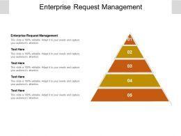 Enterprise Request Management Ppt Powerpoint Presentation Inspiration Clipart Cpb