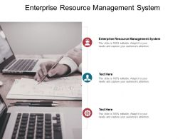 Enterprise Resource Management System Ppt Powerpoint Presentation Professional Mockup Cpb