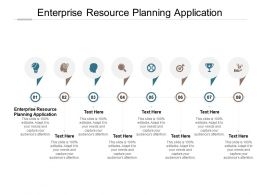 Enterprise Resource Planning Application Ppt Powerpoint Presentation Professional Graphics Cpb