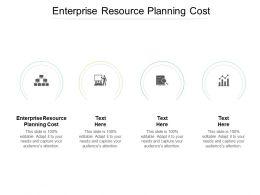 Enterprise Resource Planning Cost Ppt Powerpoint Presentation Portfolio Inspiration Cpb