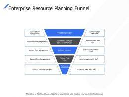 Enterprise Resource Planning Funnel Management Communication Ppt Powerpoint Presentation