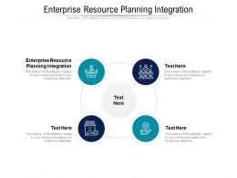 Enterprise Resource Planning Integration Ppt Powerpoint Presentation Show Model Cpb