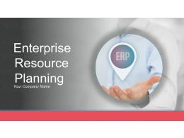 Enterprise Resource Planning Powerpoint Presentation Slides