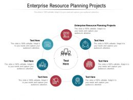 Enterprise Resource Planning Projects Ppt Powerpoint Presentation Summary Design Ideas Cpb