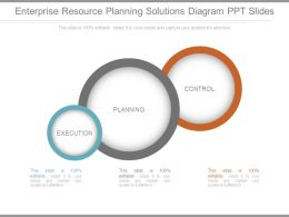 Enterprise Resource Planning Solutions Diagram Ppt Slides