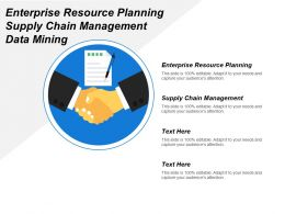 Enterprise Resource Planning Supply Chain Management Data Mining