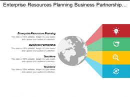 Enterprise Resources Planning Business Partnership Security Safety Advertising Media