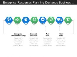 Enterprise Resources Planning Demands Business Nalyze Business Process
