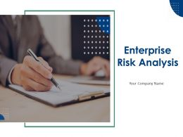 Enterprise Risk Analysis Powerpoint Presentation Slides