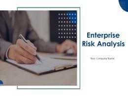 Enterprise Risk Analysis Powerpoint Presentation Slides