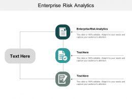 Enterprise Risk Analytics Ppt Powerpoint Presentation Outline Example Cpb