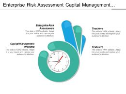 Enterprise Risk Assessment Capital Management Working Operation Excellence Cpb