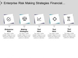 Enterprise Risk Making Strategies Financial Management Investment Strategies Cpb