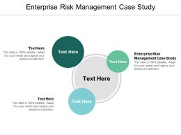 Enterprise Risk Management Case Study Ppt Powerpoint Presentation Slides Portrait Cpb