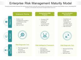 Enterprise Risk Management Maturity Model