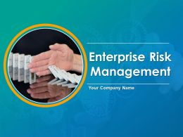 Enterprise Risk Management Powerpoint Presentation Slides