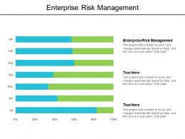 Enterprise Risk Management Ppt Powerpoint Presentation Gallery Elements Cpb