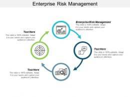 Enterprise Risk Management Ppt Powerpoint Presentation Infographic Template Inspiration Cpb