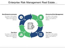 Enterprise Risk Management Real Estate Investments Business Simulation Cpb