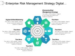 Enterprise Risk Management Strategy Digital Oilfield Marketing Financial Services Cpb