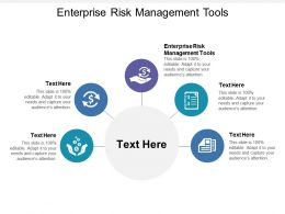 Enterprise Risk Management Tools Ppt Powerpoint Presentation File Formats Cpb