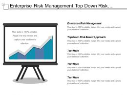 Enterprise Risk Management Top Down Risk Based Approach Cpb