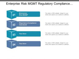 Enterprise Risk Mgmt Regulatory Compliance Standards Branding Marketing Cpb