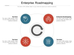 Enterprise Roadmapping Ppt Powerpoint Presentation Slides Example Topics Cpb