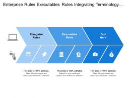 Enterprise Rules Executables Rules Integrating Terminology Standard Terminologies