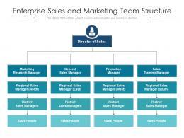 Enterprise Sales And Marketing Team Structure
