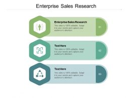 Enterprise Sales Research Ppt Powerpoint Presentation Layouts Guide Cpb