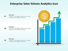 Enterprise Sales Volume Analytics Icon