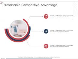 Enterprise Scheme Administrative Synopsis Sustainable Competitive Advantage Ppt Slides