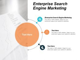 Enterprise Search Engine Marketing Ppt Powerpoint Presentation Infographic Template Show Cpb