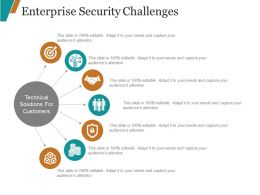 Enterprise Security Challenges Powerpoint Slides Design