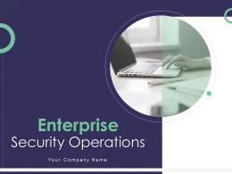 Enterprise Security Operations Powerpoint Presentation Slides